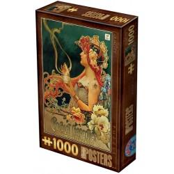 Puzzle Plakát Chocolat Carpentier