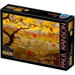 Puzzle Jabloň s červenými plody