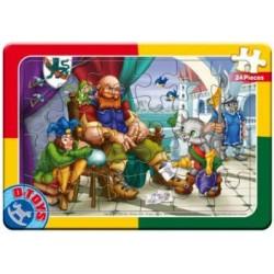 Puzzle Pinokio - DESKOVÉ PUZZLE