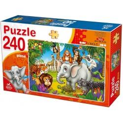 Puzzle Zvířátka džungle - DĚTSKÉ PUZZLE