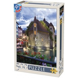 Puzzle Annecy, Francie
