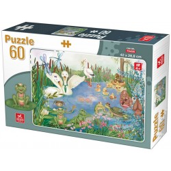Puzzle Život na rybníku - DĚTSKÉ PUZZLE