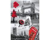 Puzzle Londýn - koláž