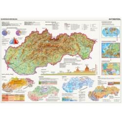 Puzzle Mapa Slovenska
