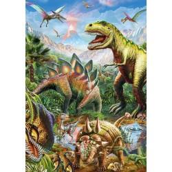 Puzzle Svět dinosaurů - SVÍTÍCÍ PUZZLE
