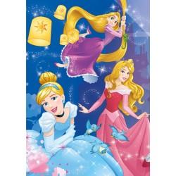 Puzzle Princezny - oslava - SVÍTÍCÍ PUZZLE