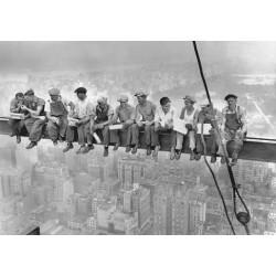 Puzzle Dělníci na traverze