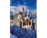 Puzzle Zimní Neuschwanstein