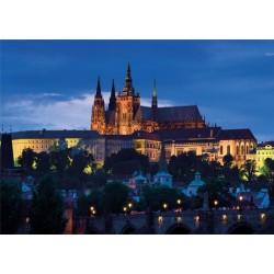 Puzzle Večerní Praha - SVÍTÍCÍ PUZZLE