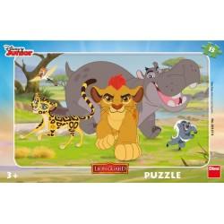 Puzzle Lví hlídka - DESKOVÉ PUZZLE