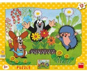Puzzle Krtek zahradníkem - DETSKOVÉ PUZZLE