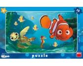 Puzzle Nemo a želva - DESKOVÉ PUZZLE