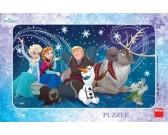 Puzzle Ledové Království - sněhové vločky - DESKOVÉ PUZZLE