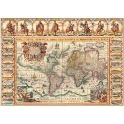 Puzzle Historická mapa světa