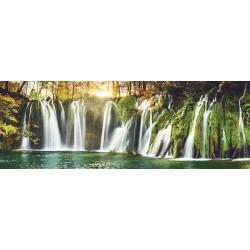 Puzzle Plitvická jezera - PANORAMATICKÉ PUZZLE