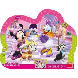Puzzle Minnie a mazlíčci - KONTURA PUZZLE