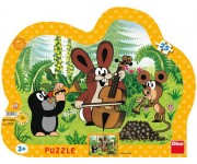 Puzzle Krtek muzikant - KONTURA PUZZLE