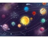 Puzzle Dětská sluneční soustava - DĚTSKÉ PUZZLE