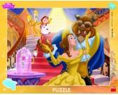 Puzzle Kráska a zvíře - DESKOVÉ PUZZLE