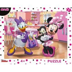 Puzzle Růžová Minnie - DESKOVÉ PUZZLE