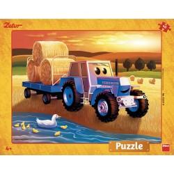 Puzzle Zetor: žně - DESKOVÉ PUZZLE
