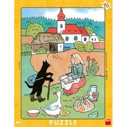 Puzzle Kocour Mikeš - DESKOVÉ PUZZLE