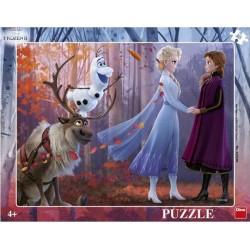 Puzzle Ledové království - DESKOVÉ PUZZLE