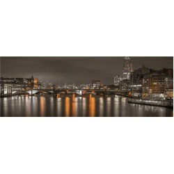Puzzle Londýn v noci - PANORAMATICKÉ PUZZLE