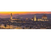 Puzzle Zlatá Florencie - PANORAMATICKÉ PUZZLE