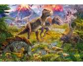 Puzzle Svět dinosaurů