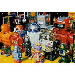 Puzzle Roboti