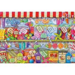 Puzzle Obchod s cukrovinkami