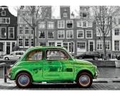 Puzzle Auto v Amsterdamu