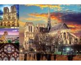 Puzzle Notre Dame - koláž