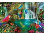 Puzzle Tropičtí papoušci