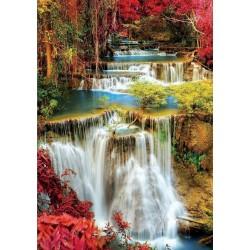 Puzzle Vodopád v hustém lese