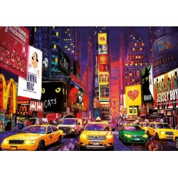 Puzzle Times Square - SVÍTÍCÍ PUZZLE