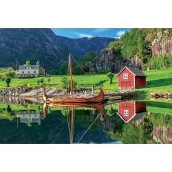 Puzzle Vikingská loď