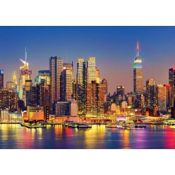 Puzzle Manhattan v noci