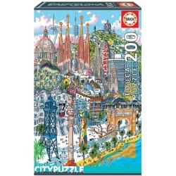 Puzzle Barcelona - MINI PUZZLE