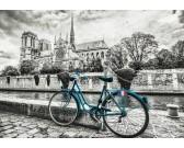Puzzle Jízdní kolo u Notre Dame