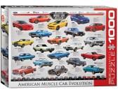 Puzzle Americká auta