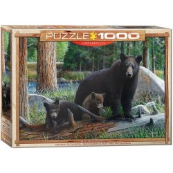 Puzzle Medvědí rodinka