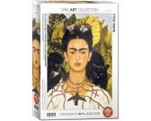 Puzzle Frida Kahlo - autoportrét