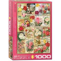 Puzzle Malované růže