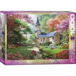 Puzzle Kvetoucí zahrada