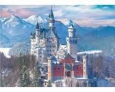 Puzzle Neuschwanstein v zimě