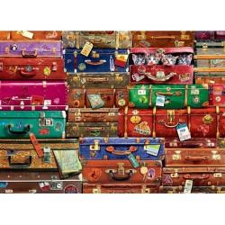 Puzzle Cestovní kufry