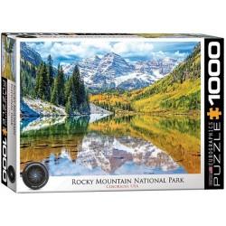 Puzzle Národní park Rocky Mountain, USA