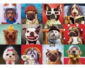 Puzzle Veselí psi
